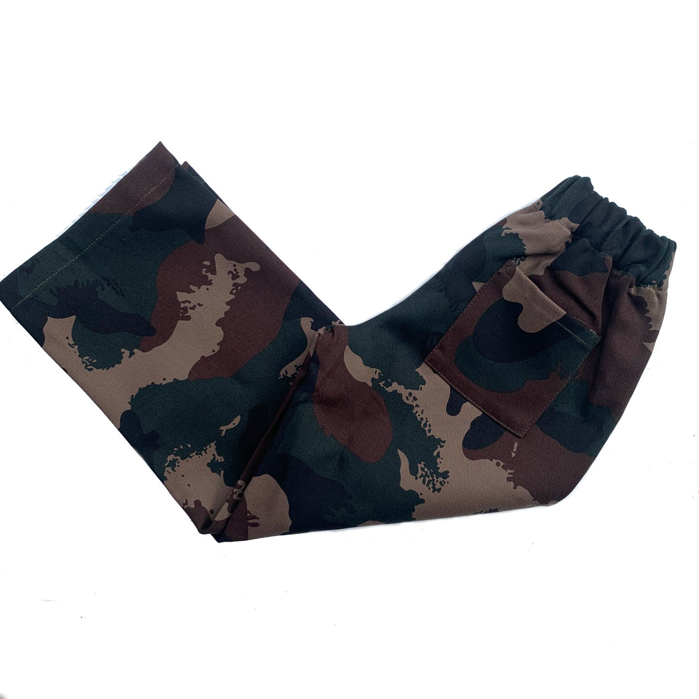 Camouflage chldren's army trousers