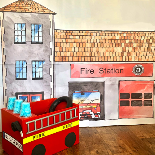 A Firestation poster